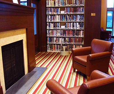 seating with books