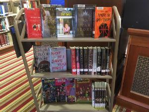Teen New Book Cart